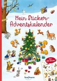 Mein Sticker-Adventskalender
