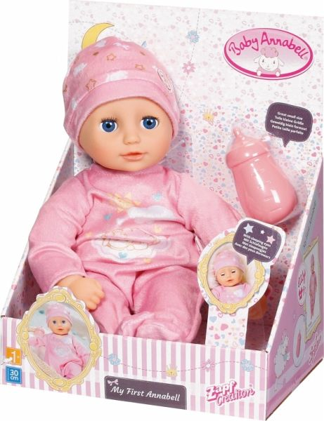Zapf 701836 - Baby Annabell, My First Annabell, 30 cm ...