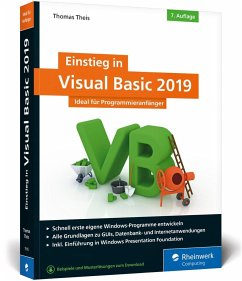 Einstieg in Visual Basic 2019 - Theis, Thomas