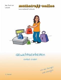 Gewichtseinheiten (eBook, ePUB)
