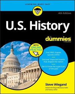 U.S. History For Dummies (eBook, PDF) - Wiegand, Steve