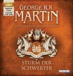 Sturm der Schwerter / Das Lied von Eis und Feuer Bd.5 (4 MP3-CDs) (Mängelexemplar)