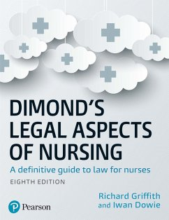 Dimond's Legal Aspects of Nursing eBook (eBook, PDF) - Griffith, Richard; Dowie, Iwan