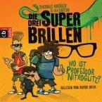 Die drei Superbrillen - Wo ist Professor Nitroglitz? (Mängelexemplar)