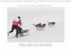 Emotionale Momente: The Art of Huskys. / CH-Version (Wandkalender 2020 DIN A4 quer)