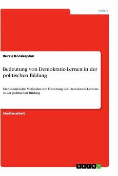 Bedeutung von Demokratie-Lernen in der politischen Bildung