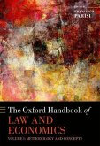 The Oxford Handbook of Law and Economics: Volume 1: Methodology and Concepts, Volume 2: Private and Commercial Law, and Volume 3: Public Law and Legal