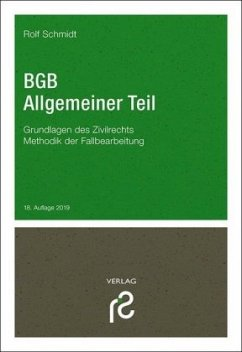 BGB Allgemeiner Teil - Schmidt, Rolf