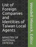 List of Foreign Companies and Identities of Taiwan Local Agents
