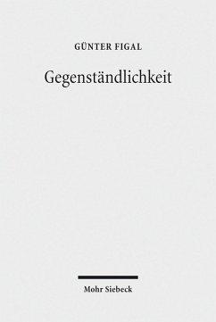Gegenständlichkeit (eBook, PDF) - Figal, Günter