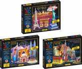 LED Diorama Puzzle Motiv: Welcome to Las Vegas 43 Teile