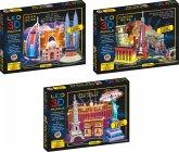 LED Diorama Puzzle Motiv: Asien Reise 70 Teile