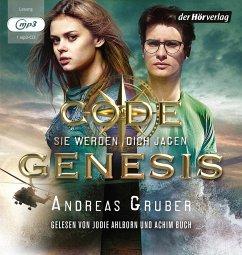 Sie werden dich jagen / Code Genesis Bd.2 (1 MP3-CD) - Gruber, Andreas