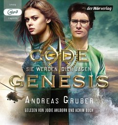 Image of Sie werden dich jagen / Code Genesis Bd.2 (1 MP3-CD)