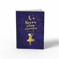 Traumtagebuch für deine Träume - das Tagebuch für luzide Träume, Klarträume, Tagträume und Albträume. Hardcover Buch mit Goldfolie in 155x225 mm und zwei Lesebändern in Gold und Blau. Stay Inspired! by Lisa Wirth - Wirth, Lisa