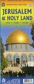 International Travel Map ITM Jerusalem & Holy Land Map
