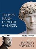 La morte a Venezia letto da Massimo Popolizio. Audiolibro. MP3-CD