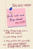 Girls Rule and Boys Are Cunts! Girl Boss Mode!: Funny Motivational Novelty Gift Blank Lined Notebook for Independent Girls Looking to Conquer the Worl