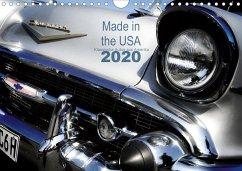 Made in the USA - Klassische Autos aus Amerika (Wandkalender 2020 DIN A4 quer)