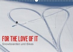 For the Love of It - Snowboarden und Bikes (Wandkalender 2020 DIN A3 quer)