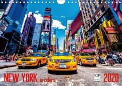 New York in Colors 2020 (Wandkalender 2020 DIN A4 quer)