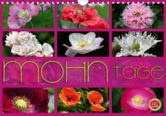 Mohn Tage (Wandkalender 2020 DIN A4 quer)