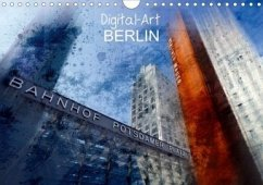 Digital-Art BERLIN (Wandkalender 2020 DIN A4 quer)