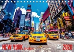 New York in Colors 2020 (Tischkalender 2020 DIN A5 quer) - Seifinger, Toby