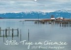 Stille Tage am Chiemsee (Wandkalender 2020 DIN A2 quer)