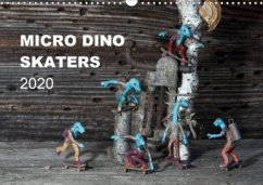 Micro Dino Skaters 2020 (Wandkalender 2020 DIN A3 quer)