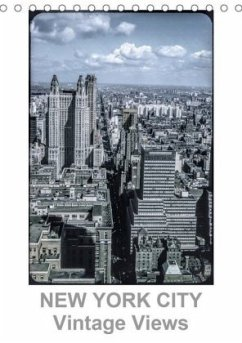 NEW YORK CITY - Vintage Views (Tischkalender 2020 DIN A5 hoch)