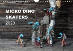 Micro Dino Skaters 2020 (Wandkalender 2020 DIN A4 quer)