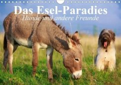 Das Esel-Paradies - Hunde und andere Feunde (Wandkalender 2020 DIN A4 quer)