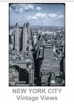 NEW YORK CITY - Vintage Views (Wandkalender 2020 DIN A3 hoch)
