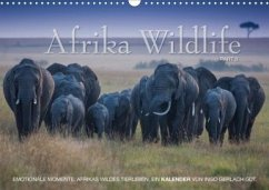 Emotionale Momente: Afrika Wildlife. Part 3. / CH-Version (Wandkalender 2020 DIN A3 quer)