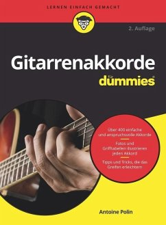 Gitarrenakkorde für Dummies (eBook, ePUB) - Polin, Antoine A.