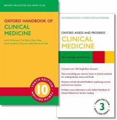 Oxford Handbook of Clinical Medicine 10e and Oxford Assess and Progress: Clinical Medicine 3e - Wilkinson, Ian B.; Raine, Tim; Wiles, Kate; Goodhart, Anna; Hall, Catriona; O'Neill, Harriet