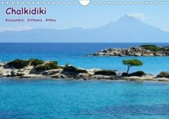 Chalkidiki: Kassandra, Sithonia, Athos (Wandkalender 2020 DIN A4 quer)