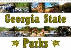 Georgia State Parks (Wandkalender 2020 DIN A3 quer)