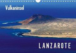 Vulkaninsel Lanzarote (Wandkalender 2020 DIN A4 quer)