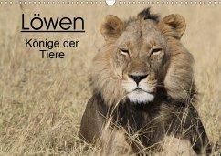 Löwen - Könige der Tiere (Wandkalender 2020 DIN A3 quer)