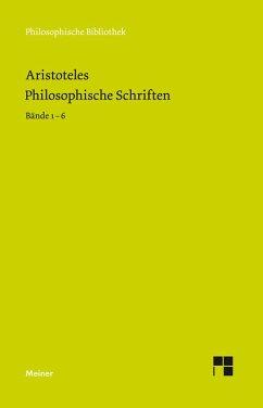 Philosophische Schriften (eBook, PDF) - Aristoteles