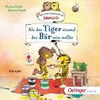 Als der kleine Tiger einmal der Bär sein wollte. Nach einer Figurenwelt von Janosch (MP3-Download)