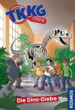 Die Dino-Diebe / TKKG Junior Bd.8 (eBook, ePUB) - Tannenberg, Benjamin