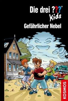 Die drei ??? Kids - Gefährlicher Nebel / Die drei Fragezeichen-Kids Bd.80 (eBook, ePUB) - Blanck, Ulf