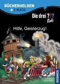 Die drei ??? Kids, Bücherhelden, Hilfe, Geisterzug! (drei Fragezeichen Kids) (eBook, PDF)