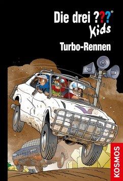 Die drei ??? Kids - Turbo-Rennen / Die drei Fragezeichen-Kids Bd.81 (eBook, ePUB) - Pfeiffer, Boris