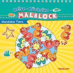 Reise-Rücksitz-Rätselblock Mandalas Tiere. Ab 5 Jahren (Mängelexemplar)