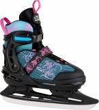 HUDORA 45248 - Allround Schlittschuh, Comfort Eislaufschuhe Ice Skates, floral, 29-34