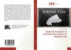 Statut de la femme et mortalité des enfants au Burkina Faso